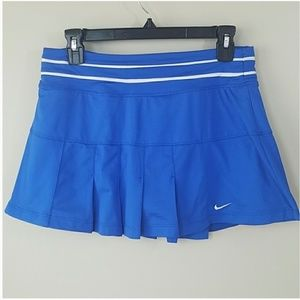 Nike Dri-Fit Blue Pleated Skort